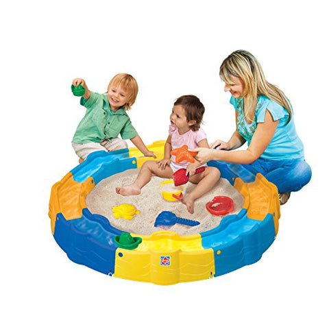 13 Piece Sand N Play Build a Box Set, Kids Sandbox