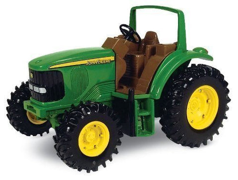 "11"" John Deere Tough Tractor, Truck and Tractor Play Vehicles Toys Push&Pul,playground equipment Preschool Pre-Kindergarten Activity Toy"