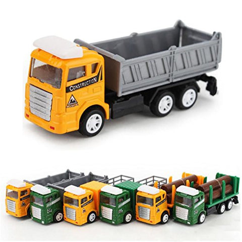 1:60 Alloy Mining Car, Misaky Truck Children's Birthday Gift Engineering Toy
