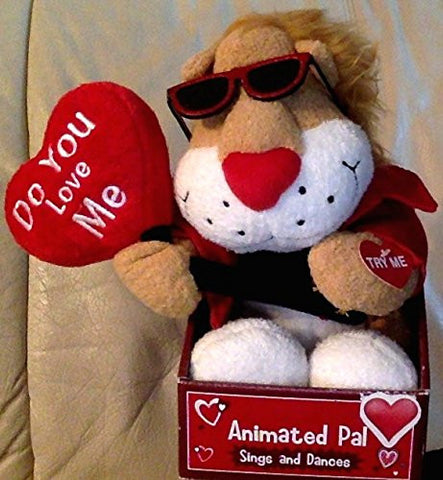"""Do You Love Me"" Animated Pal (Lion Sings and Dances)"