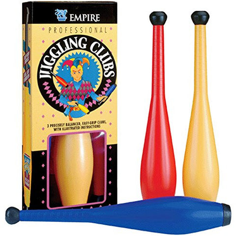 "17.5"" Professional 3 Piece Juggling Set w/ Instructions"