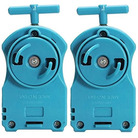 2x Beyblade Power String Launchers BeyLaunchers Rippers, Right Spin Blue BB-110