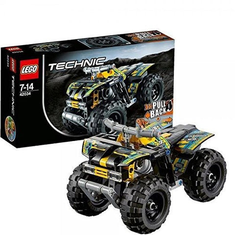 -LEGO TECHNIC 42034 ACTION QUAD-TOY LEGO NEU /item# G4W8B-48Q56926