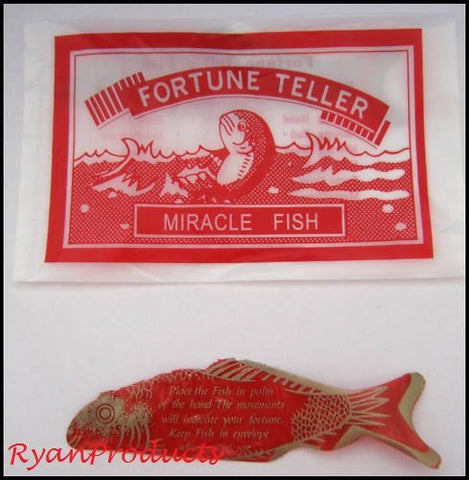 96 dozen pack of Fortune Teller Miracle Fish