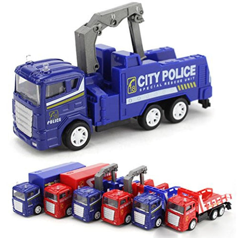 1:60 Alloy Truck, Misaky Mining Car Children's Birthday Gift Engineering Toy