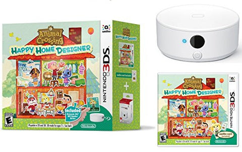Animal Crossing Happy Home Designer Bundle with NFC Reader and Amiibo Card - Nintendo 3DS
