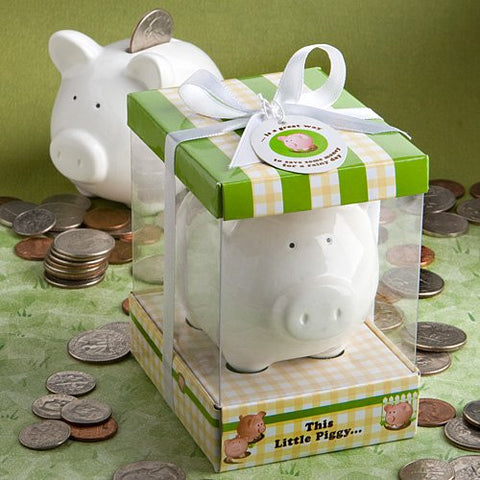 """This Little Piggy"" Ceramic Bank, 1"