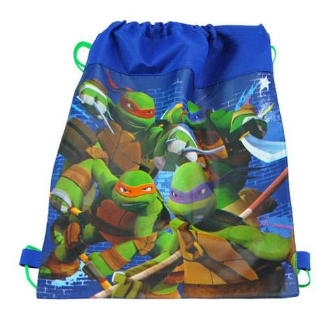 12-Pack Teenage Mutant Ninja Turtles TMNT Non-Woven Sling Bags