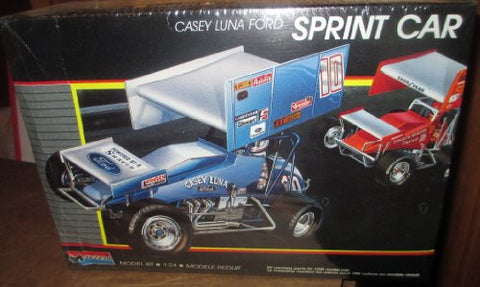 #2775 Monogram World of Outlaws Casey Luna Ford Sprint Car 1/24 Scale Plastic Model Kit,Needs Assembly