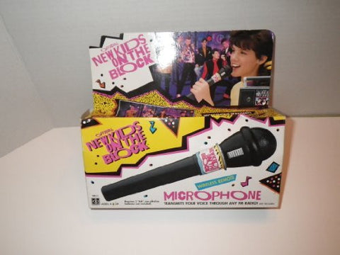 1990 New Kids on the Block Microphone