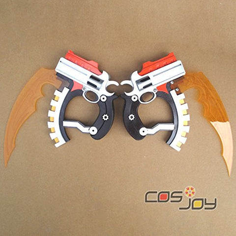 .Hack Xth Form Haseo Blade Twin Blade PVC Cosplay Prop-1111