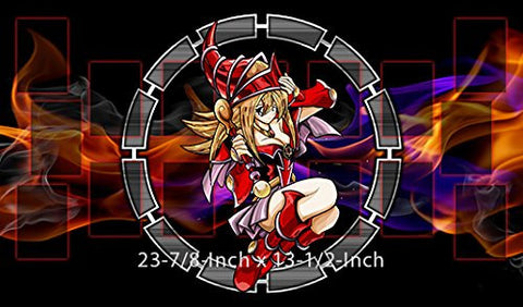 #3 - Yu-gi-oh Red Dark Magician Girl PLAYMAT, Yu-gi-oh Red Dark Magician Girl Play mat | Size 23-7/8-Inch x 13-1/2-Inch (AArt)