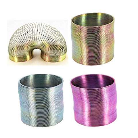 1 Inch Metal Mini Slinky Type Spring Toy Fidget Toy Party Favors