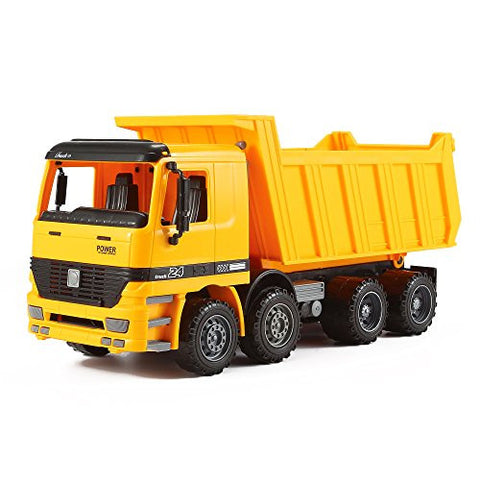 """KING Series"" Inertia Construction / Demolition Tipper Tip Up Dump Truck by KinderToys"