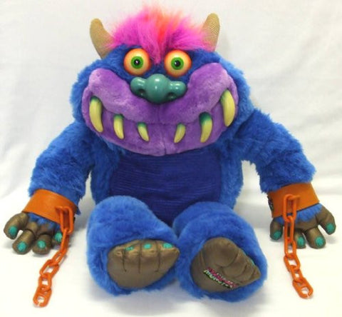 "2001 TOYMAX 20"" Plush TALKING MY PET MONSTER Talks RARE"