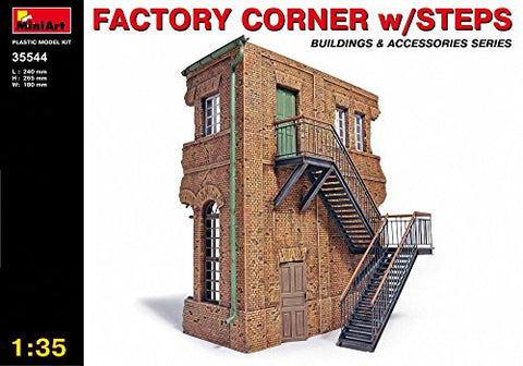 1:35 Factory Corner With Steps