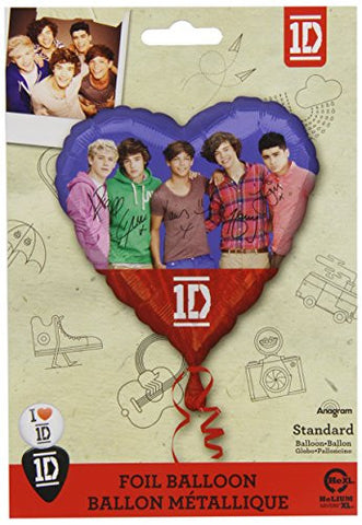 1 Foil One Direction Standard Balloon (2 Sided)