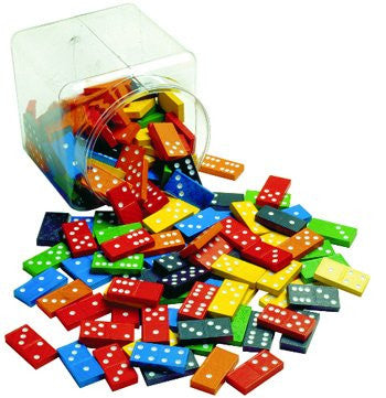 * DOUBLE 6 COLOR DOMINOES 6 SETS
