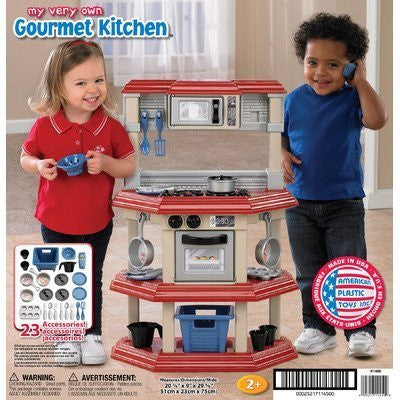 American Plastic Toys My Very Own Gourmet Kitchen Children, Kids, Game