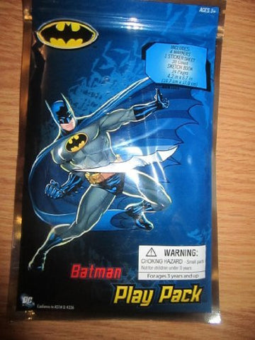 Batman Play Pack Ages 3+ by DC Comics