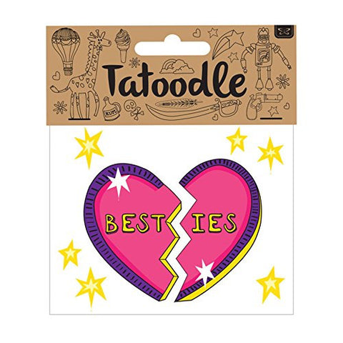 'Best - ies' Temporary Tatoodle