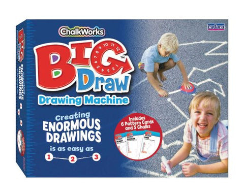"""Big Draw"" Sidewalk Chalk Drawing Machine"