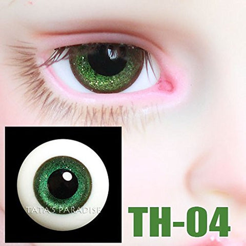 1/3 1/4 1/6 BJD doll Eyes 14mm/ 16mm glass Eyeballs for SD/MSD/YSD Ball-jointed Doll [TH-04 ]
