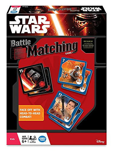 (BUNDLE OF 5) Star Wars Battle Matching Game, One Star Wars Sticker Book, Star Wars Darth Vader Sign Gift Set - 8.5'' x 12.5'' - Set of 2, Plus 2 Bouns Hot Wheels