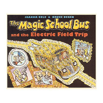 **SIGNED** The Magic School Bus and the Electric Field Trip (The Magic School Bus Ser.)