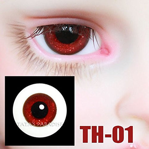 1/3 1/4 1/6 BJD doll Eyes 14mm/ 16mm glass Eyeballs for SD/MSD/YSD Ball-jointed Doll [TH-01]