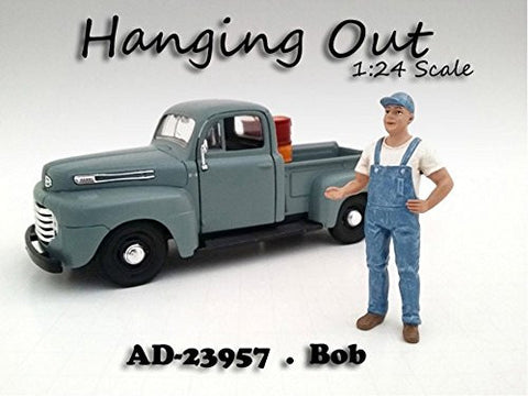 """Hanging Out"" Bob Figure For 1:24 Scale Models by American Diorama 23957"