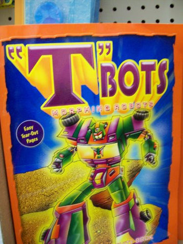 """T"" Bots Morphing Robots Coloring Book (Single)"