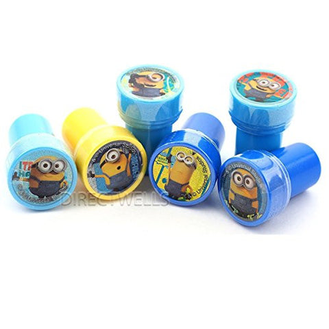 10 Assorted Colors or Designs Minions Stampers