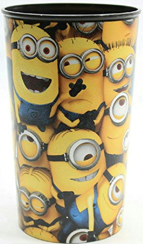 (Pack of 2) Cartoon Character Plastic Drinking Cup (Minions)