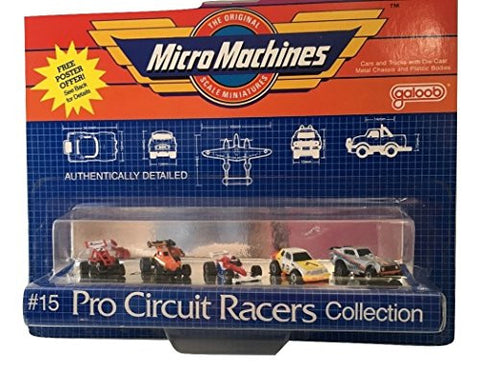 #15 Pro Circuit Racers Collection by Micro Machines