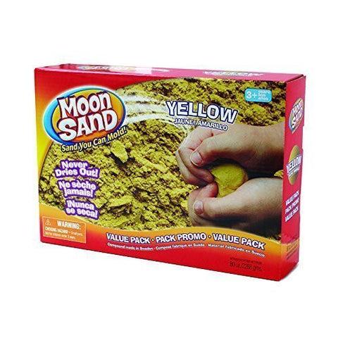 * MOON SAND LUNAR YELLOW 5 LB BOX by MotivationUSA