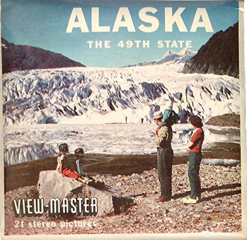 1950's Alaska The 49th State 3d View-Master 3 Reel Packet