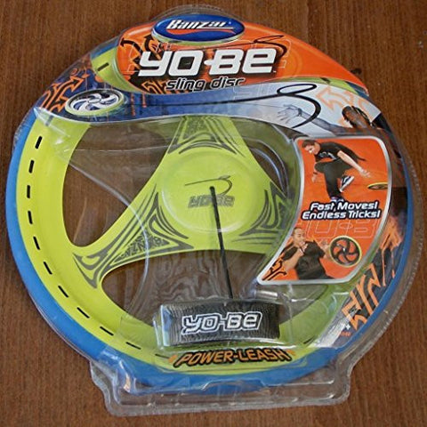 (Ship from USA) Banzai Yo-Be Sling Disc, with Power Leash - BRAND NEW - LOOKS FUN /ITEM#H3NG UE-EW23D176667
