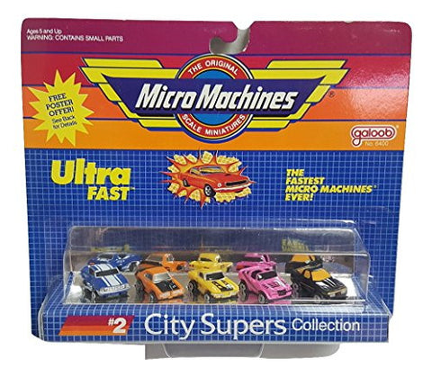 #2 City Supers Collection by Micro Machines