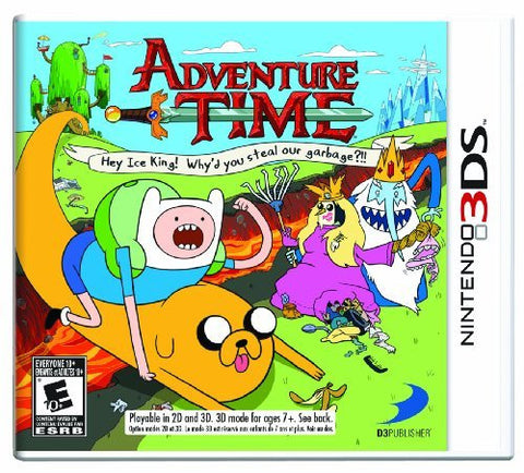 Adventure Time: Hey Ice King! Why'd you steal our garbage?!! - Nintendo 3DS by D3 Publisher