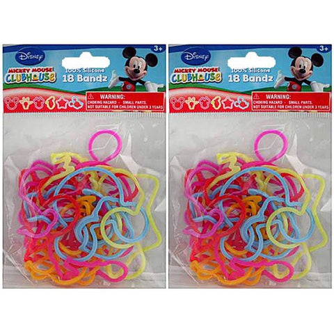1 Pack of 18 Disney Mickey Mouse Clubhouse Silly Shaped