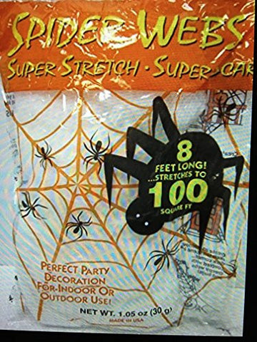 100 square foot spider webs