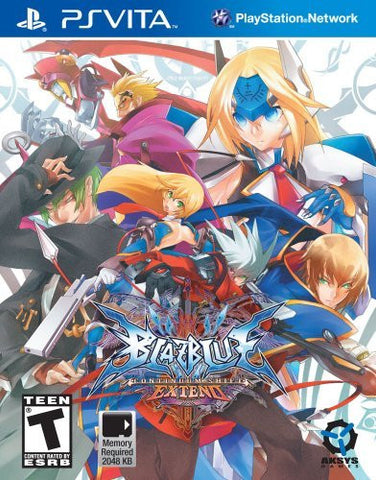 BlazBlue: Continuum Shift EXTEND - standard edition - PlayStation Vita by Aksys