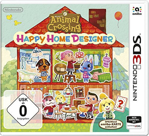 Animal Crossing: Happy Home Designer - 3DS by Nintendo