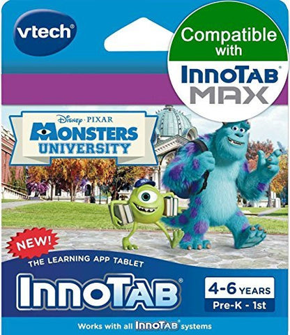 (USA Warehouse) VTech InnoTab Learning Software Monsters University 80-231900 3417762319009 **ITEM#NO: 43E8E-UFE6 C2A6650
