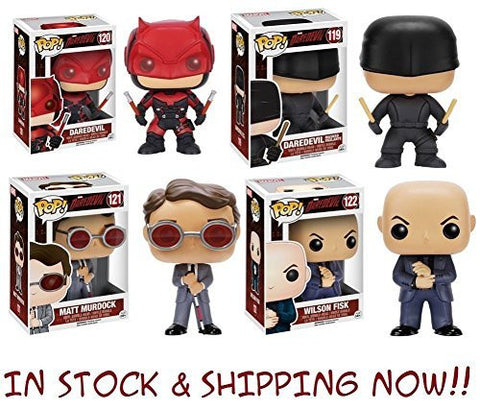 ! [Daredevil] Dare Devil Pop Marvel: Daredevil TV Vinyl Figures Set of 4 [parallel import goods]