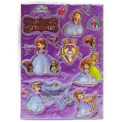 (Disney) Disney Sofia the First 3D seal Glitter SOGLIT [parallel import goods]