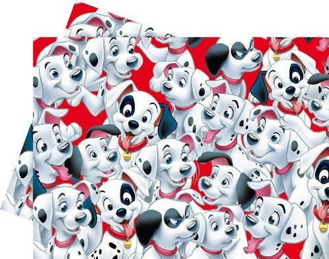 101 Dalmatians Birthday Party - 101 Dalmatians Plastic Party Tablecover