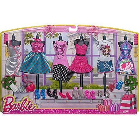 Barbie Favorite Fashion 6-pack