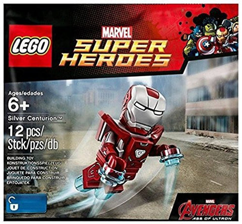 (Lego) LEGO Exclusive Marvel Super Heroes 5002946 Silver Centurion Polybag - Iron Man Mark 33 Armor [parallel import goods]